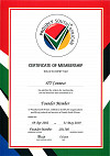 Founder Member of Proudly South African